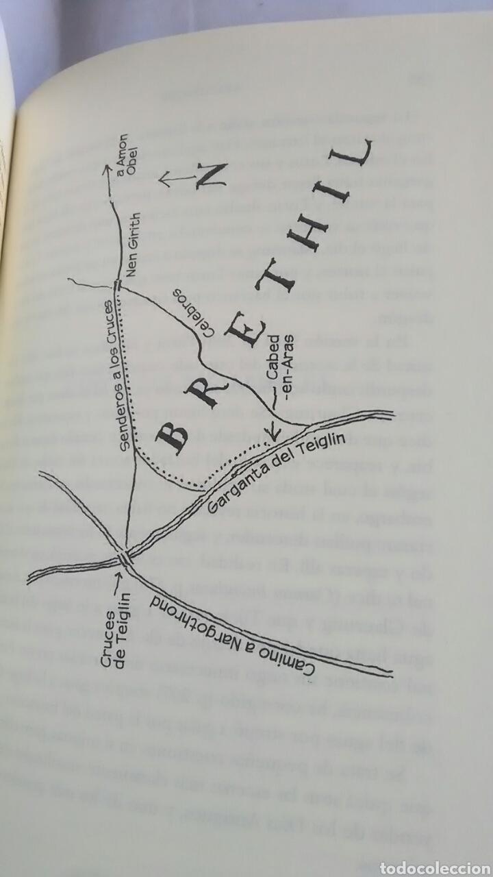 Libros: J.R.R. Tolkien. Lo hijos de Hurin. - Foto 3 - 278171043