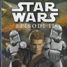 Libros: STAR WARS. EPISODIO II- EL ATAQUE DE LOS CLONES. EDICION EN CATALAN. BOLSILLO. Lote 234906745