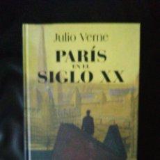 Livros: PARÍS EN EL SIGLO XX, JULIO VERNE. Lote 214778328