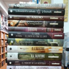 Libros: LOTE 14 LIBROS REINOS OLVIDADOS TAPA DURA EDITORIAL TIMUN MAS. Lote 215663521