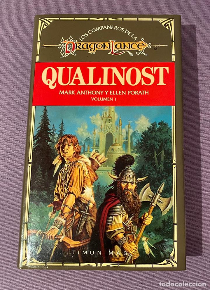 QUALINOST (Libros Nuevos - Literatura - Narrativa - Ciencia Ficción y Fantasía)