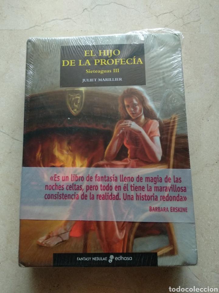 EL HIJO DE LA PROFECÍA, TRILOGÍA SIETEAGUAS III, JULIET MARILLIER, EDITORIAL EDHASA, PRECINTADO (Libros Nuevos - Literatura - Narrativa - Ciencia Ficción y Fantasía)