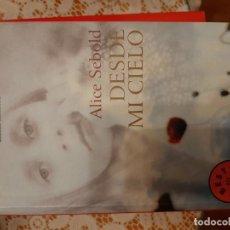 Libros: DESDE MI CIELO - ALICE SELBOD. Lote 219174848