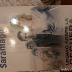 Libros: ENSAYO SOBRE LA CEGUERA - JOSE SARAMAGO. Lote 219175068
