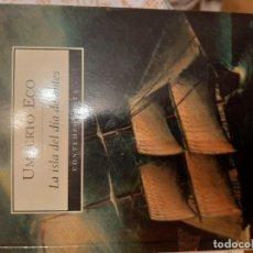 Libros: LA ISLA DEL DIA DE ANTES - UMBERTO ECO. Lote 219175302