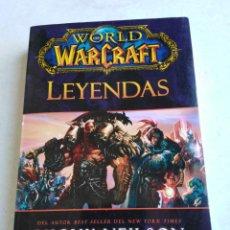Libros: WORLD WARCRAFT LEYENDAS. Lote 220746021