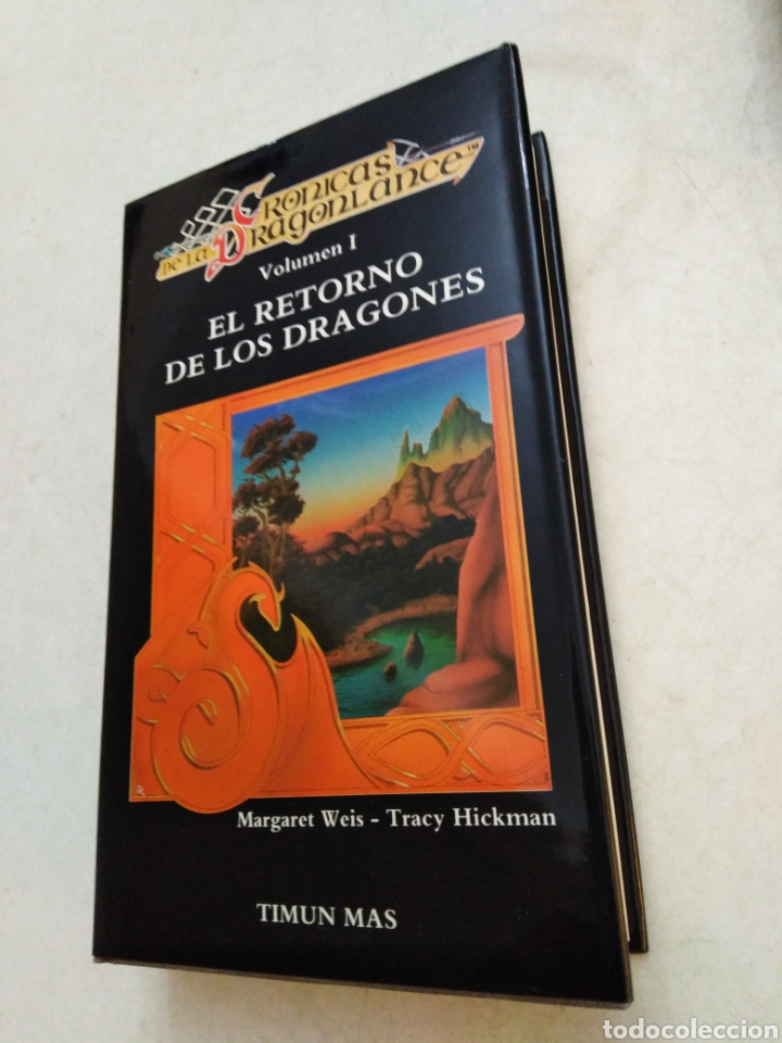 Libros: Crónicas dragonlance, 3 libros + caja ( timun mas ) - Foto 5 - 221424447