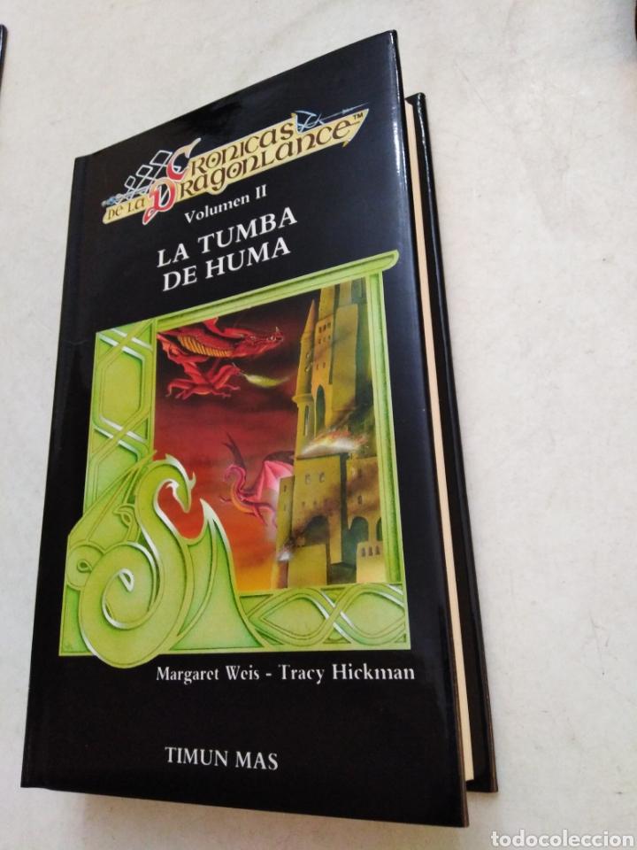 Libros: Crónicas dragonlance, 3 libros + caja ( timun mas ) - Foto 6 - 221424447