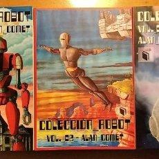 Libros: COLECCION ROBOT - ALAN COMET - COMPLETA - 3 VOLUMENES - ACHAB 2018/19/20 - 1ª EDICIÓN - NUMERADOS. Lote 222122570