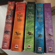 """Libros: LOS 5 LIBROS DE LA SAGA """"LOS HIJOS DE LA TIERRA"""", JEAN M. AUEL. MAEVA. Lote 222132357"""