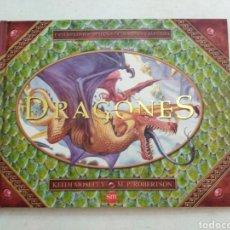 Libros: DRAGONES ( FANTÁSTICOS POP-UP LLENOS DE DRAGONES Y AVENTURA ). Lote 222264327