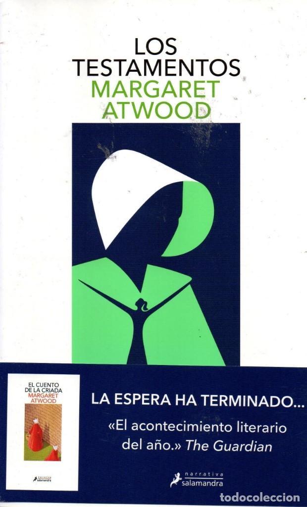 LOS TESTAMENTOS DE MARGARET ATWOOD - SALAMANDRA, 2019 (NUEVO) (Libros Nuevos - Literatura - Narrativa - Ciencia Ficción y Fantasía)