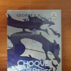 Livres: TOMO CHOQUE DE REYES (CANCION DE HIELO Y FUEGO 2) EDICION CARTONE ED. GIGAMESH. Lote 225257233
