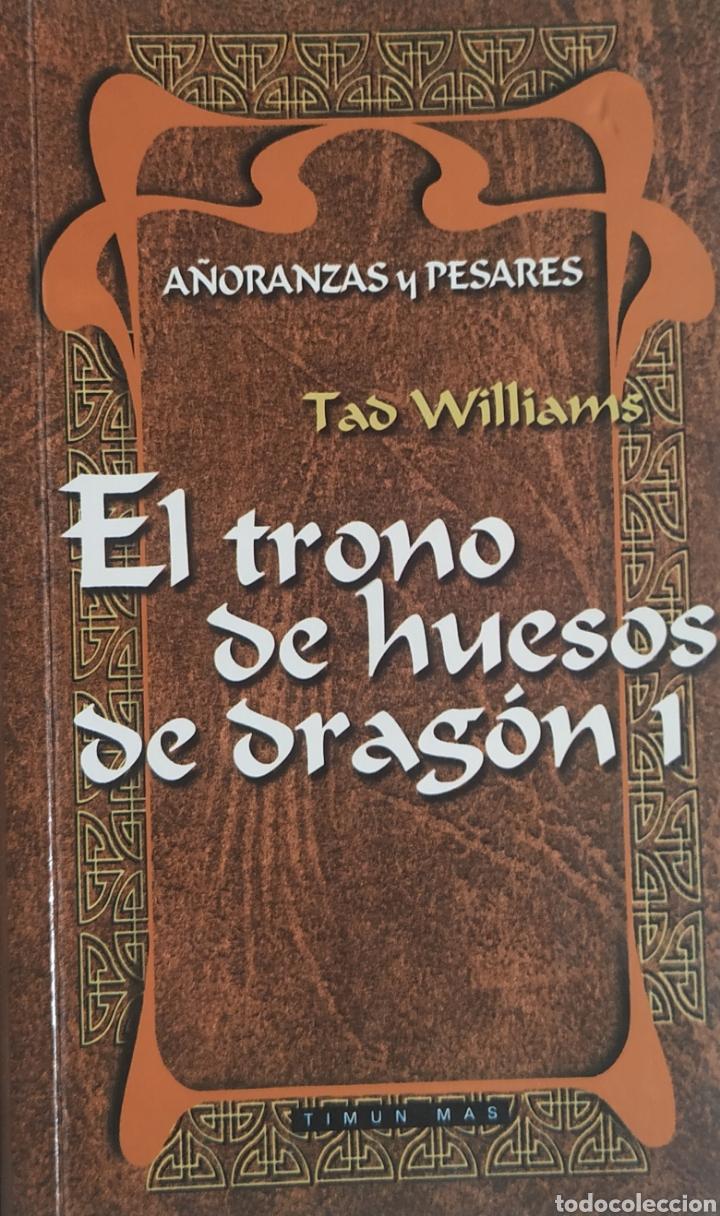 LIBRO,EL TRONO DE HUESOS DE DRAGÓN 1 (Libros Nuevos - Literatura - Narrativa - Ciencia Ficción y Fantasía)