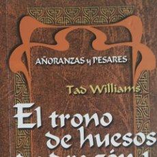 Libros: LIBRO,EL TRONO DE HUESOS DE DRAGÓN 1. Lote 228792115