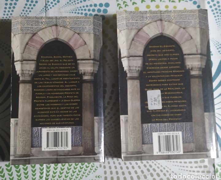 Libros: 2 libros, La Rosa del Profeta 1 y 3 - Foto 2 - 228795165