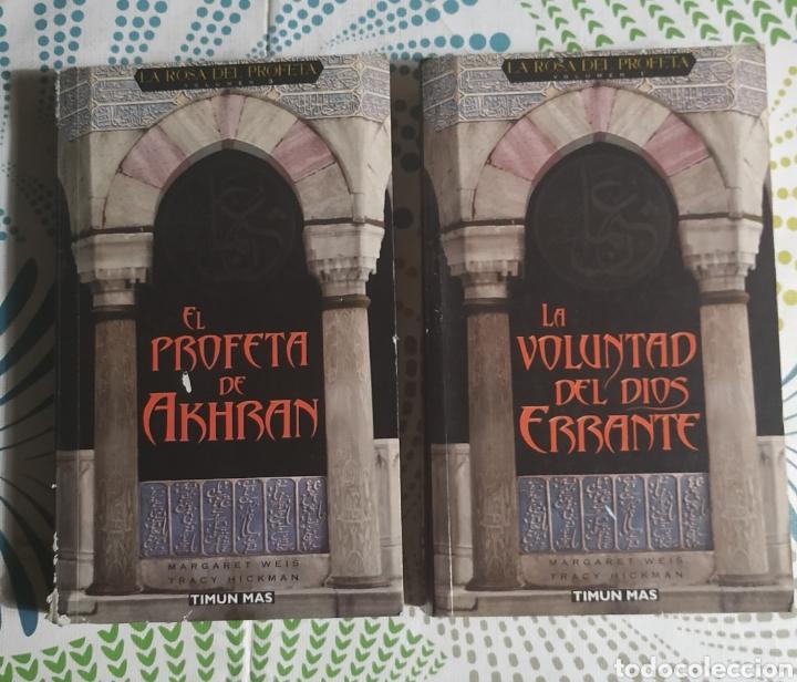 2 LIBROS, LA ROSA DEL PROFETA 1 Y 3 (Libros Nuevos - Literatura - Narrativa - Ciencia Ficción y Fantasía)