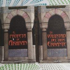 Libros: 2 LIBROS, LA ROSA DEL PROFETA 1 Y 3. Lote 228795165