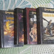 Libros: 5 LIBROS , DRAGÓN LANCE. Lote 228797330