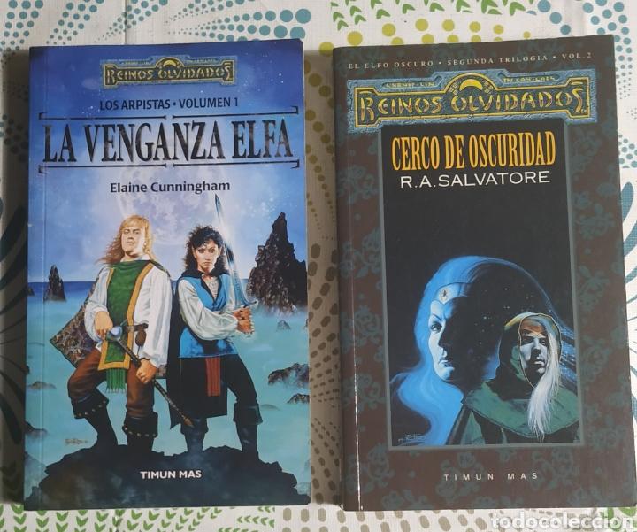 2 LIBROS REINOS OLVIDADOS (Libros Nuevos - Literatura - Narrativa - Ciencia Ficción y Fantasía)