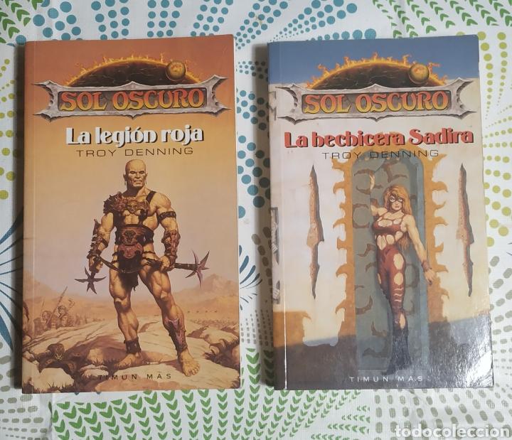 2 LIBROS,SOL OSCURO (Libros Nuevos - Literatura - Narrativa - Ciencia Ficción y Fantasía)