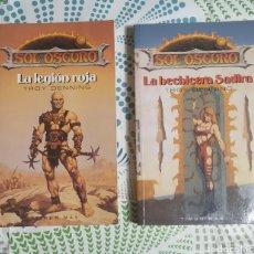 Livros: 2 LIBROS,SOL OSCURO. Lote 228801085