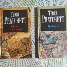 Libros: 2 LIBROS, TERRY PRATCHETT,TAPA DURA. Lote 228801845