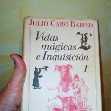 Libros: VIDAS MÁGICAS E INQUISICIÓN JULIO CARO BAROJA. Lote 231884390