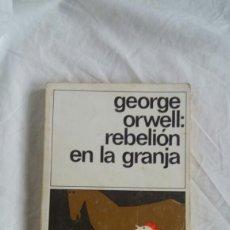 Libros: REBELIÓN EN LA GRANJA. Lote 236116240