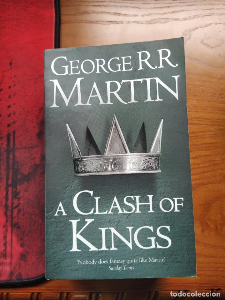 A CLASH OF KINGS: BOOK 2 OF A SONG OF ICE AND FIRE. GEORGE R.R MARTIN (Libros Nuevos - Literatura - Narrativa - Ciencia Ficción y Fantasía)