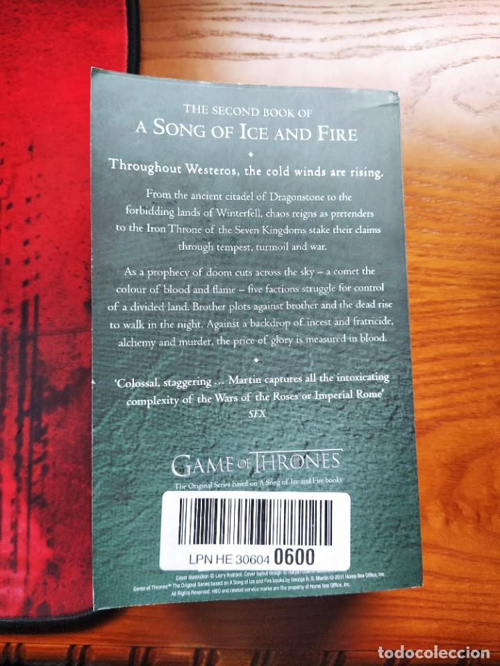 Libros: A Clash of Kings: Book 2 of a Song of Ice and Fire. George R.R Martin - Foto 3 - 237476490
