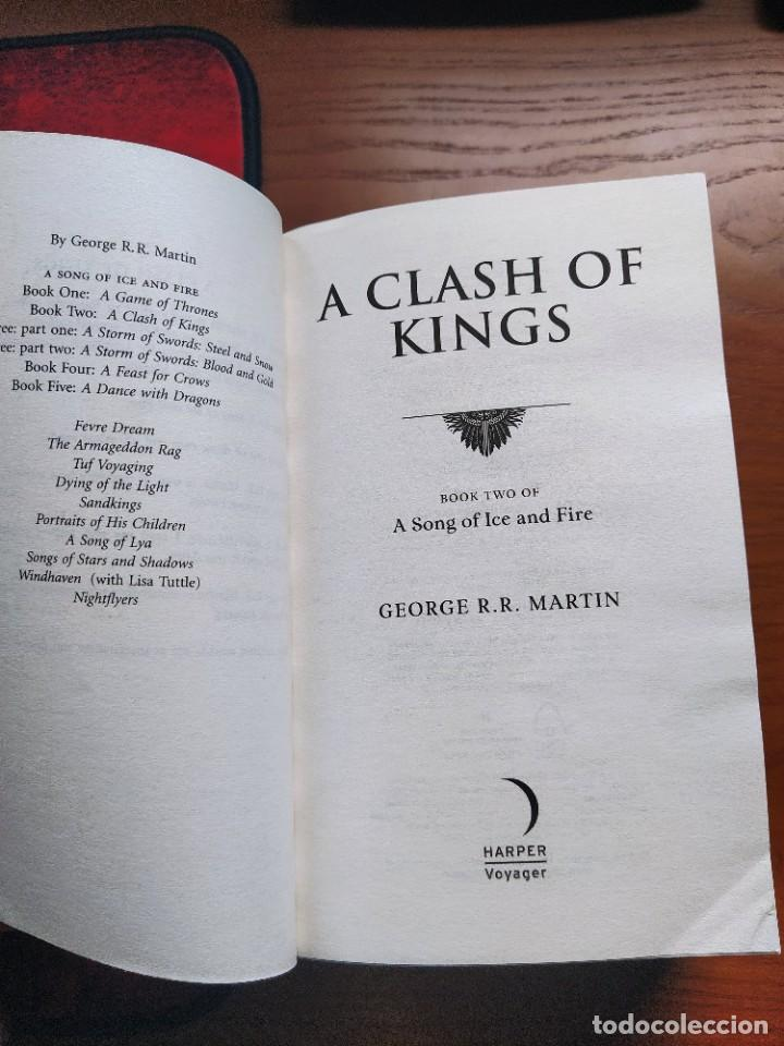 Libros: A Clash of Kings: Book 2 of a Song of Ice and Fire. George R.R Martin - Foto 4 - 237476490