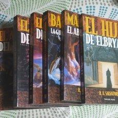 Libros: 6 LIBROS DE R.A.SALVATORE,TIMUN MAS. Lote 238452955