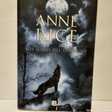 Livres: LOS LOBOS DEL INVIERNO DE ANNE RICE NUEVO. Lote 240539890