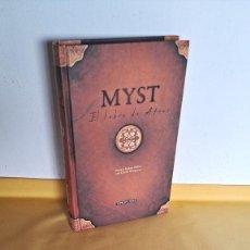 Libros: RAND Y ROBYN MILLER CON DAVID WINGROVE - MYST, EL LIBRO DE ATRUS - TIMUN MAS 2001. Lote 240654990