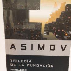 Libri: TRILOGÍA DE LA FUNDACIÓ. ASIMOV. Lote 242946330