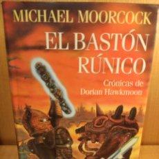 Livres: EL BASTÓN RUNICO. MICHAEL MOORCOCK. CÍRCULO DE LECTORES. Lote 249367160