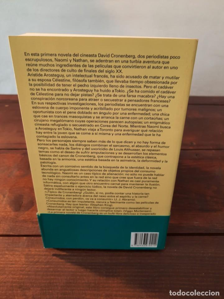 Libros: CONSUMIDOS - DAVID CRONENBERG - EDITORIAL ANAGRAMA, 2016, 1ª EDICION, BARCELONA - Foto 2 - 250207240
