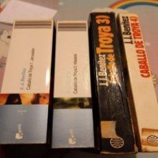 Livres: EL CABALLO DE TROYA 1- 2. Lote 252323085