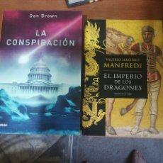Libros: LOTE DOS LIBROS. Lote 260870120