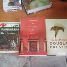 Libros: LOTE 3 LIBROS. Lote 260870610
