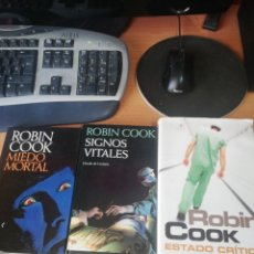 Libros: LOTE ROBIN COOK. Lote 260871570