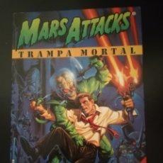 """Libros: MARS ATTACKS """"TRAMPA MORTAL"""" LIBRO 1997. Lote 262084845"""