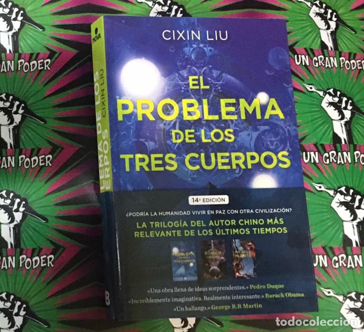 EL PROBLEMA DE LOS TRES CUERPOS. CIXIN LIU (Libros Nuevos - Literatura - Narrativa - Ciencia Ficción y Fantasía)