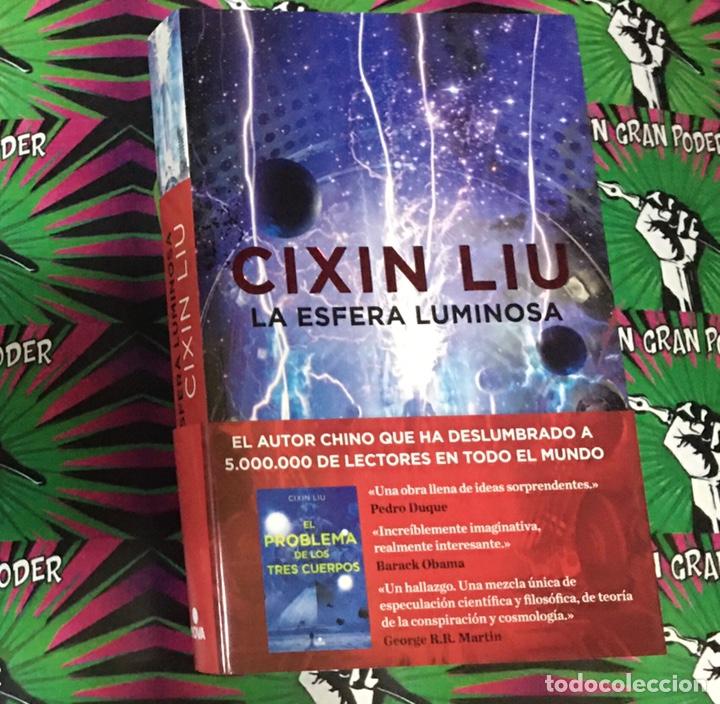 LA ESFERA LUMINOSA CIXIN LIU (Libros Nuevos - Literatura - Narrativa - Ciencia Ficción y Fantasía)