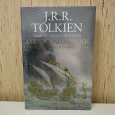 Livros: LIBRO TOLKIEN - CUENTOS INCONCLUSOS NÚMENOR TIERRA MEDIA - MINOTAURO SEÑOR DE LOS ANILLOS EL HOBBIT. Lote 266919329