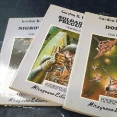 Libros: DORSAI, SOLDADO NO PREGUNTES,NIGROMANTE (3 LIBROS) GORDON R, DICKSON. Lote 270625963