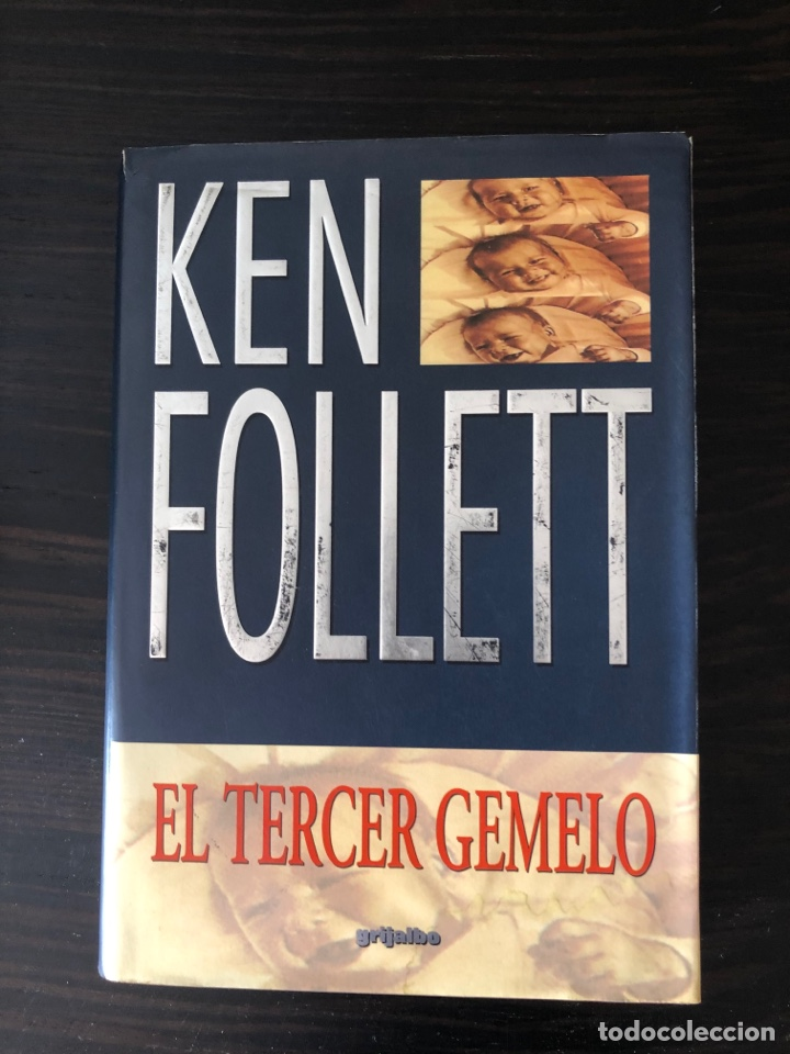 """""""EL TERCER GEMELO"""", KEN FOLLET (Libros Nuevos - Literatura - Narrativa - Ciencia Ficción y Fantasía)"""