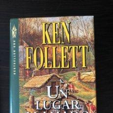 "Libros: ""UN LUGAR LLAMADO LIBERTAD"", KEN FOLLETT. Lote 275500238"