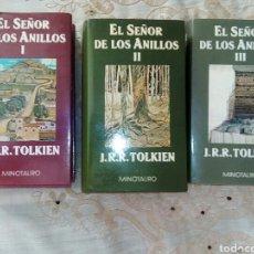 Libros: EL SEÑOR DE LOS ANILLOS. Lote 276677458